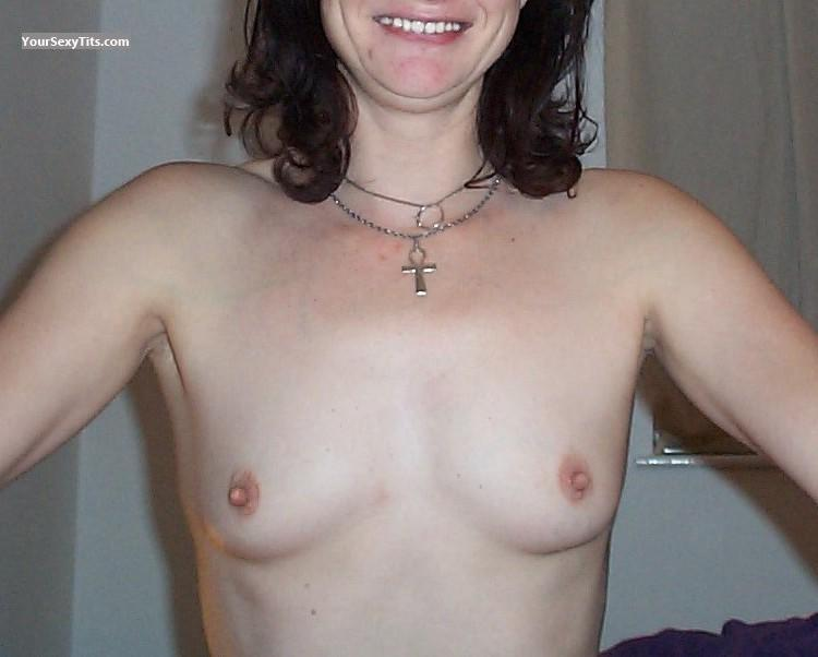Tit Flash: Small Tits - Carol Wood from United States