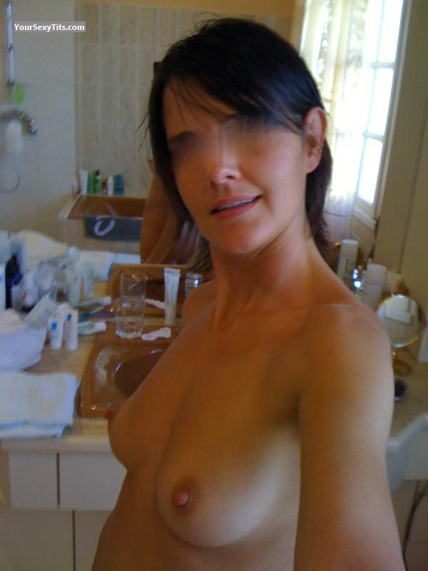 Tit Flash: My Small Tits (Selfie) - Aurelie from France