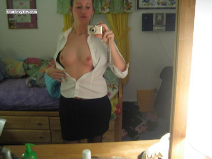 My Small Tits Topless Selfie by Chxxx