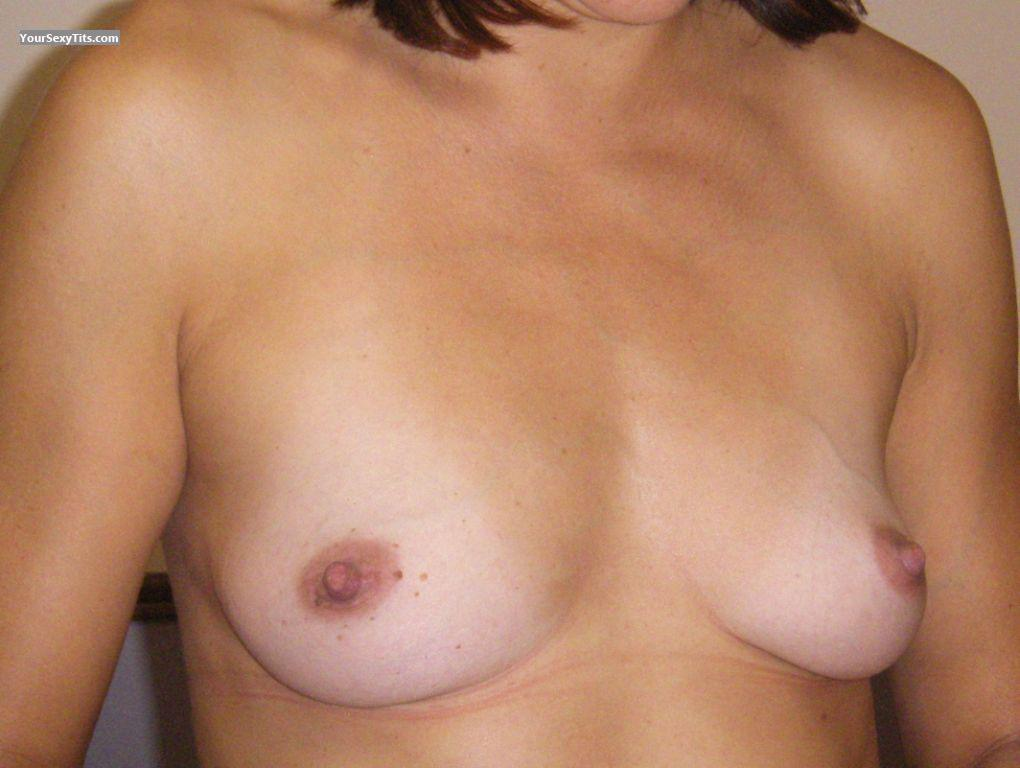 Tit Flash: Small Tits - Chapel from Australia