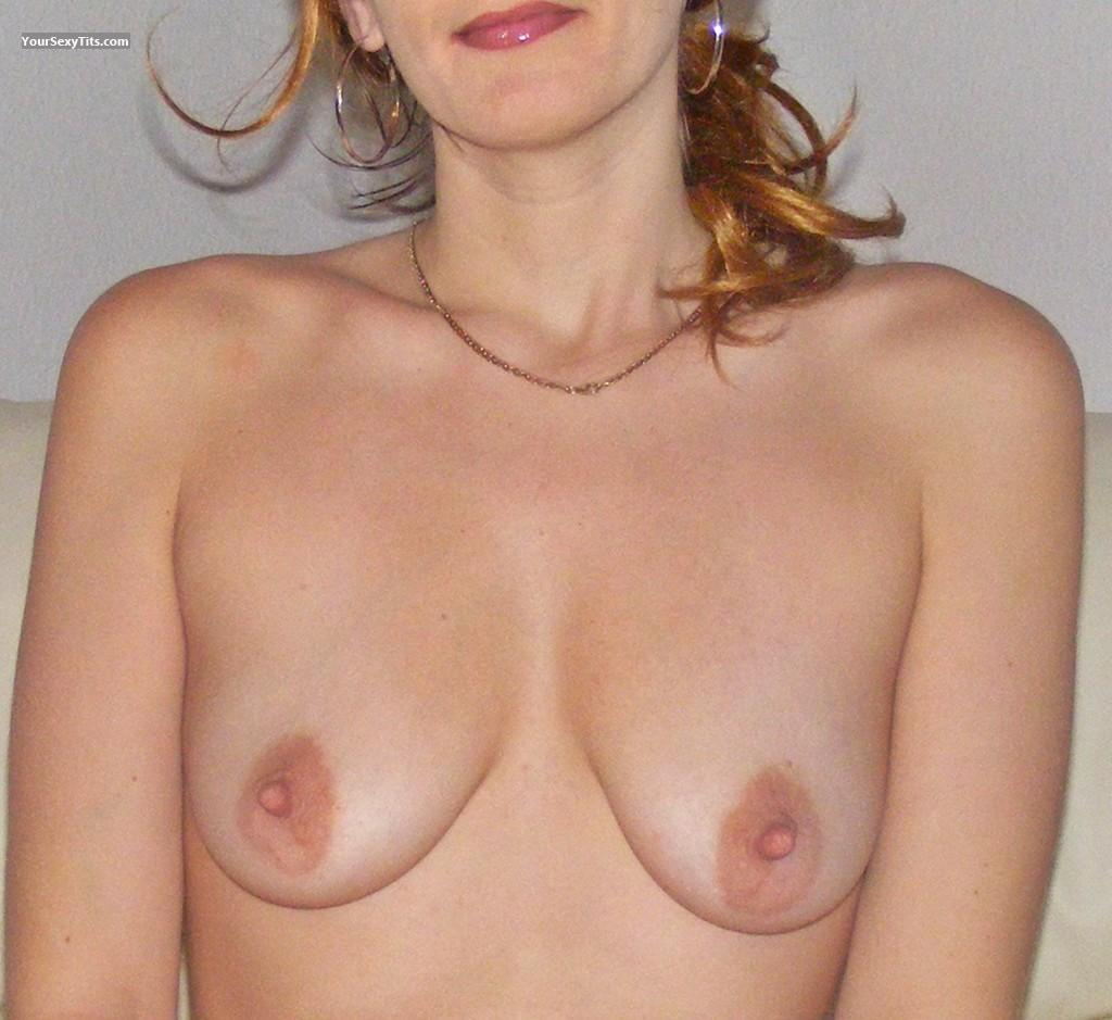 Tit Flash: Small Tits - Gigi from Italy