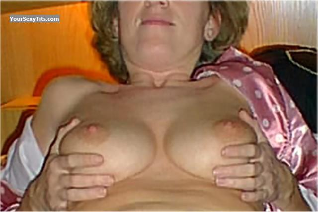 Tit Flash: Small Tits - Pamela from Germany