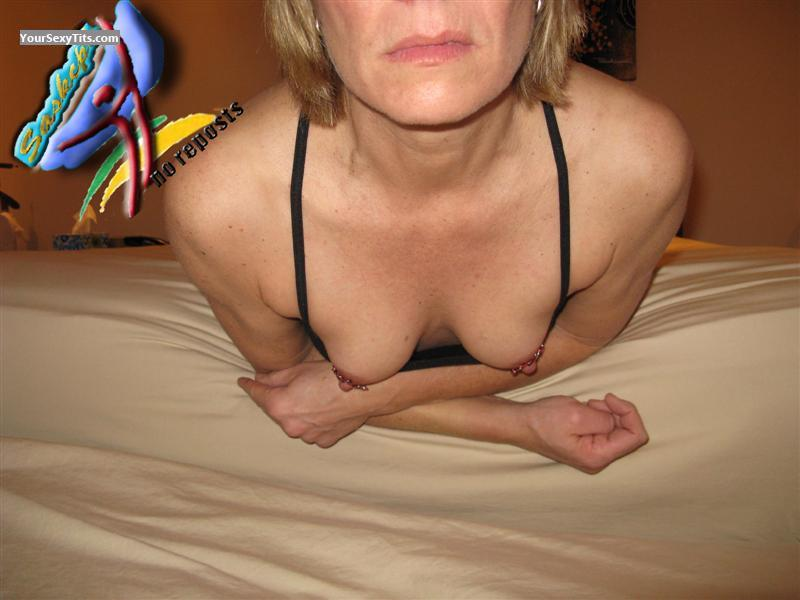 Tit Flash: Small Tits - Saskcpl from Canada