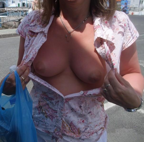 Tit Flash: Small Tits - Posh from United Kingdom