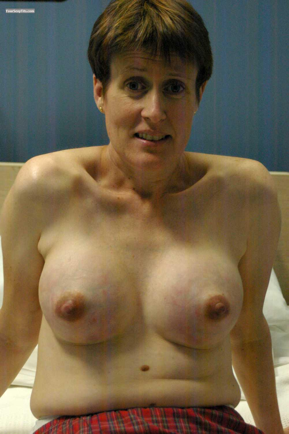 Tit Flash: My Friend's Small Tits - Topless Ashleigh from Australia