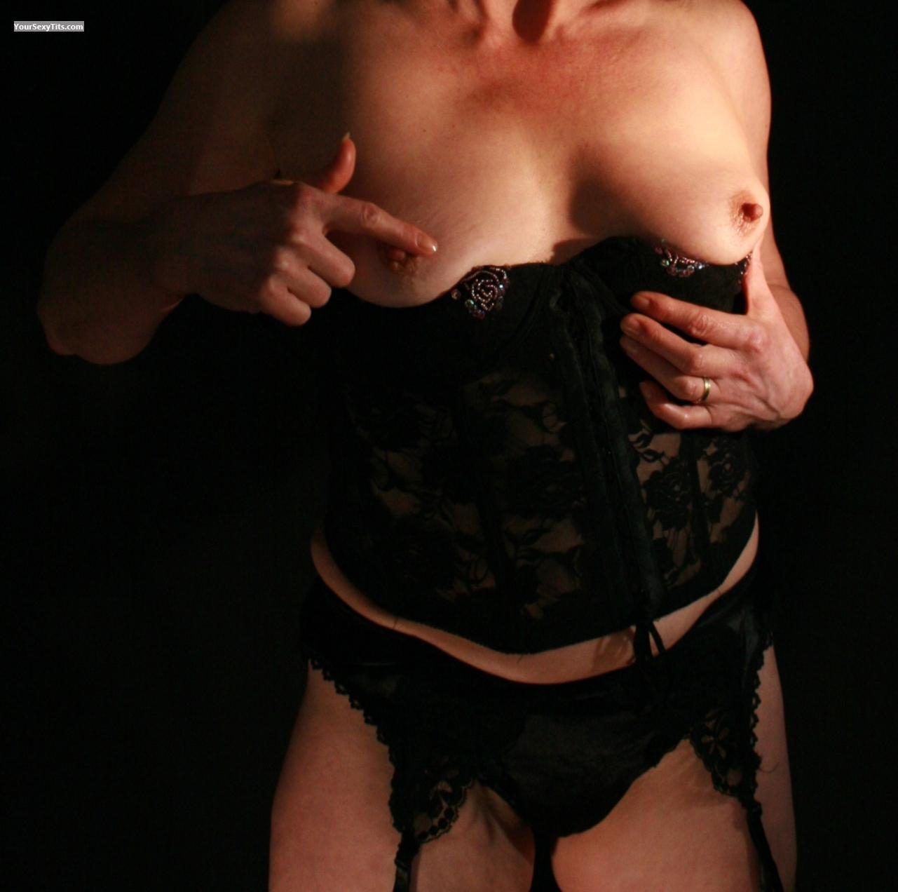 Tit Flash: Small Tits - Titty Mama from United States