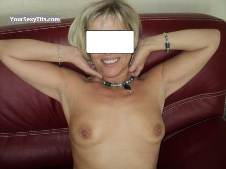 Tit Flash: Small Tits - My French MILF from France
