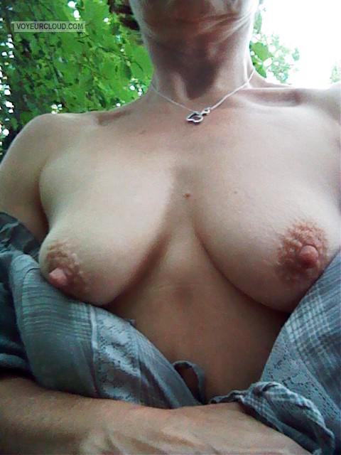 Friends wifes tits