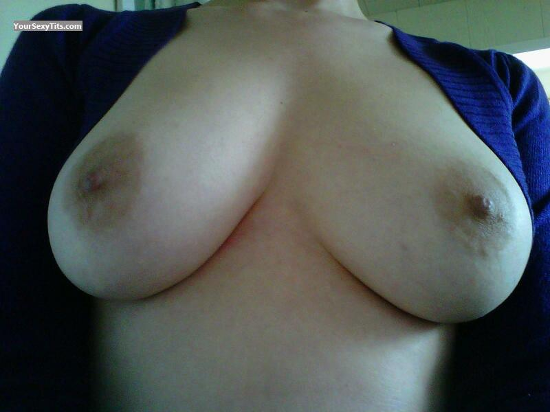 My Medium Tits Selfie by NorCal Lover