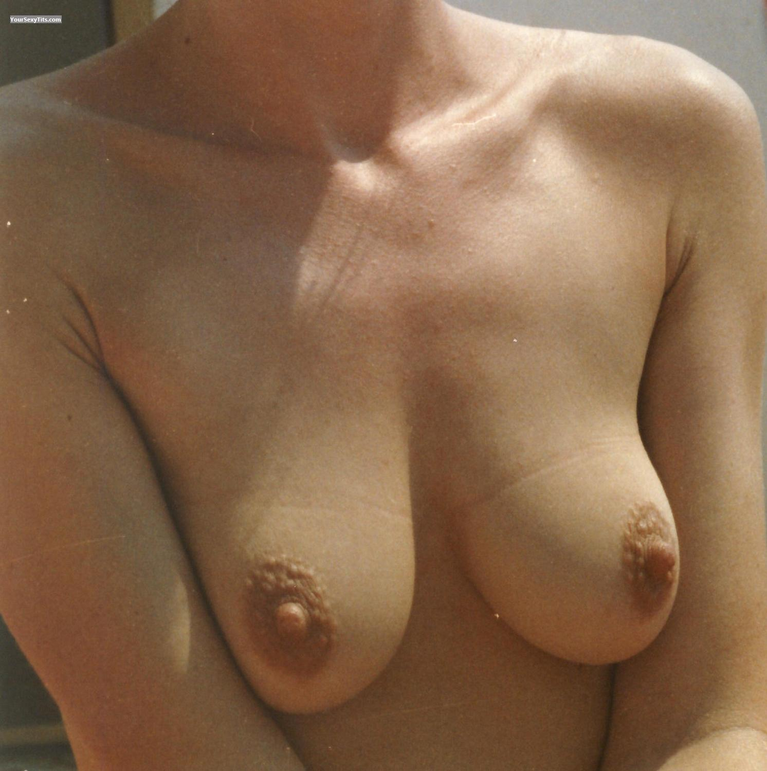 Tit Flash: Small Tits - Claudia from Germany