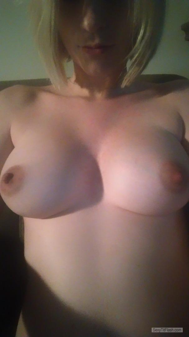 My Small Tits Topless Selfie by Mommatobe