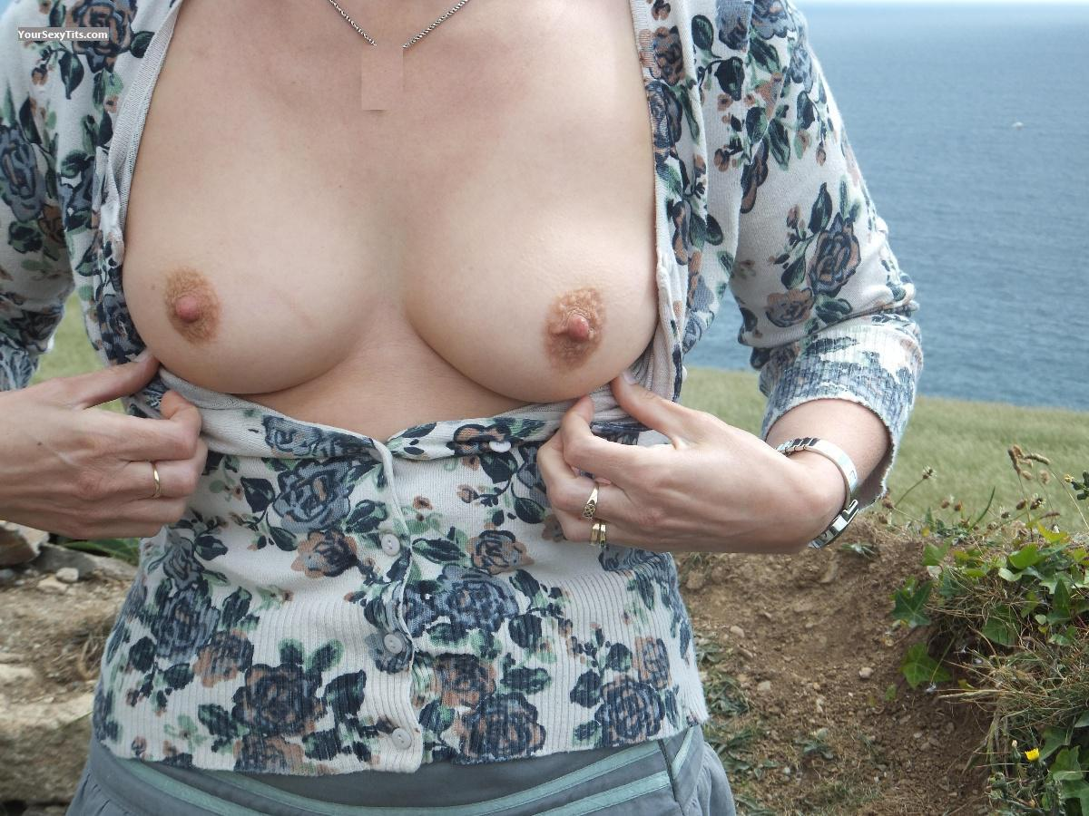 Small Tits - Posh from United Kingdom Tit Flash ID 75841