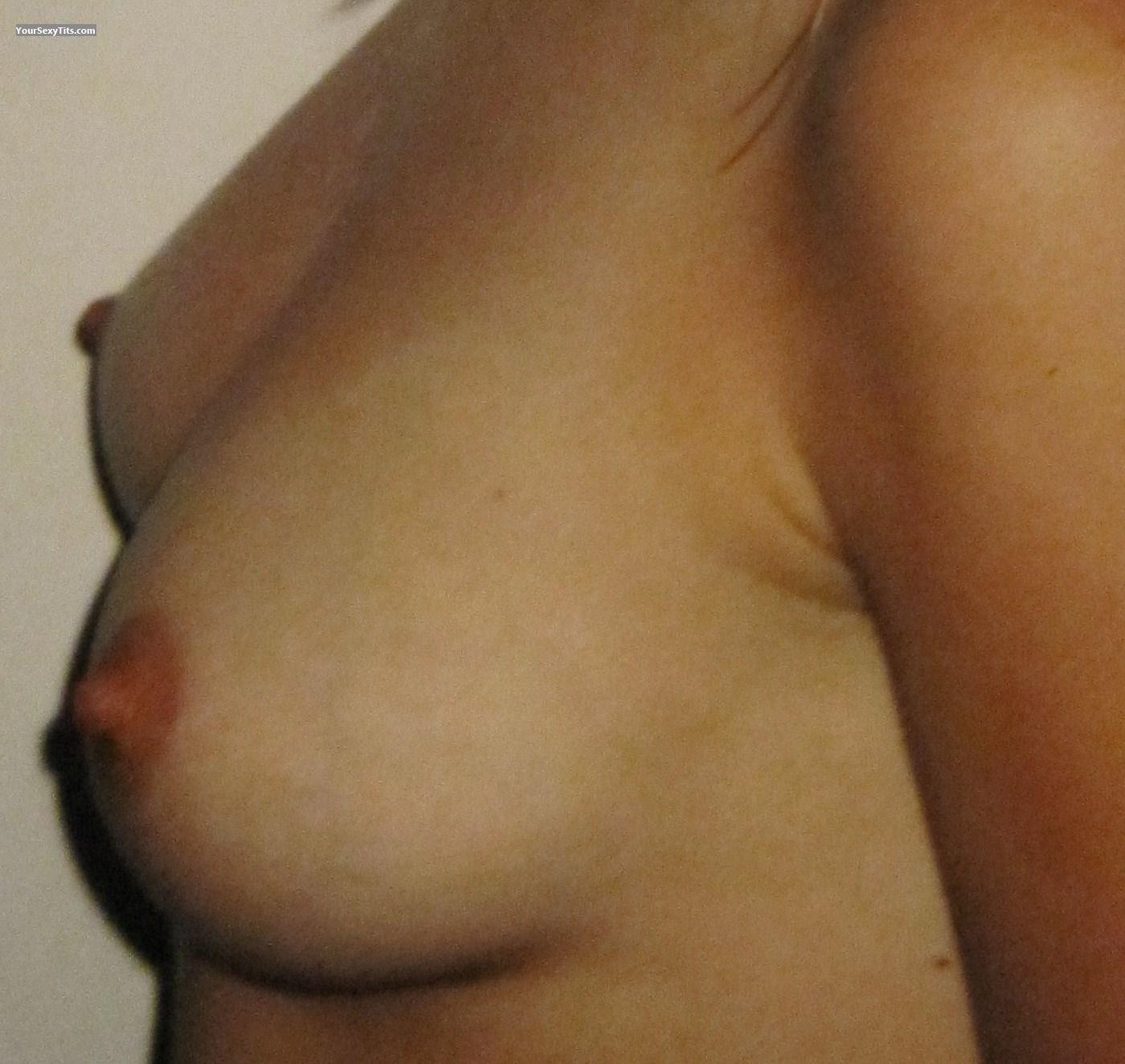 Tit Flash: Small Tits - Andi from Germany