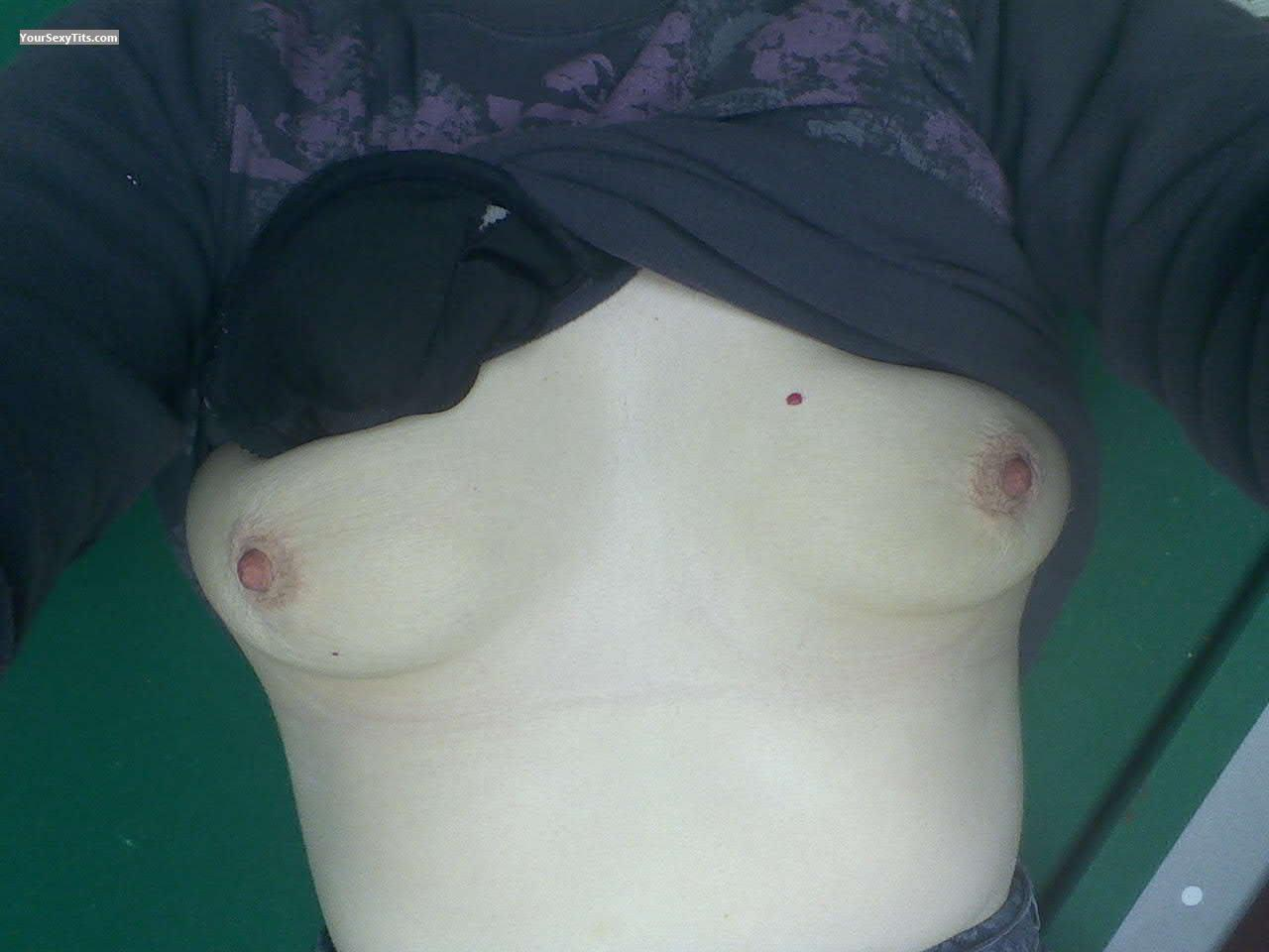 Tit Flash: My Small Tits - Lilmomma from United States