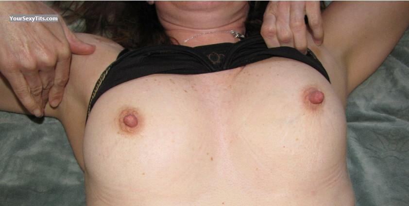 Tit Flash: Small Tits - Nad from Canada
