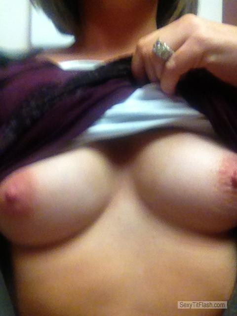 Tit Flash: My Small Tits (Selfie) - Hotkitty4u2 from United States