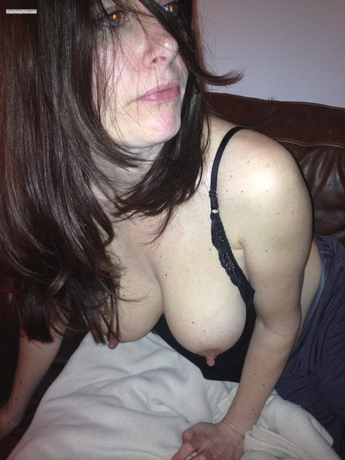 Very big Tits Topless Nearly 40