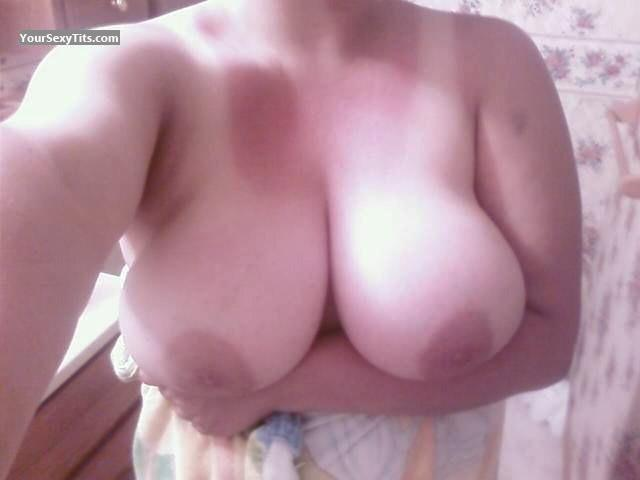Tit Flash: My Very Big Tits By IPhone (Selfie) - Me from United States