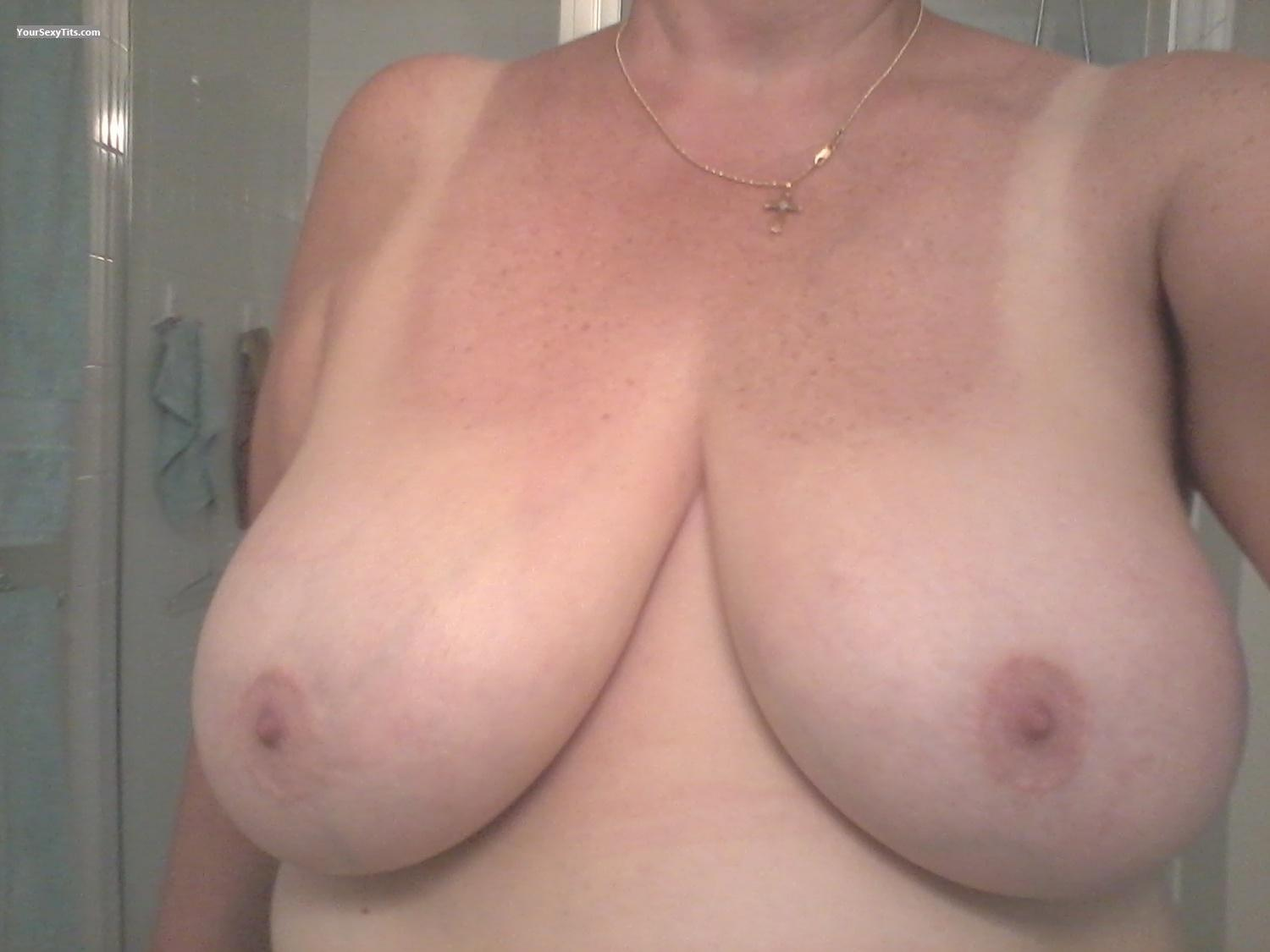 My Very big Tits Selfie by Boobies