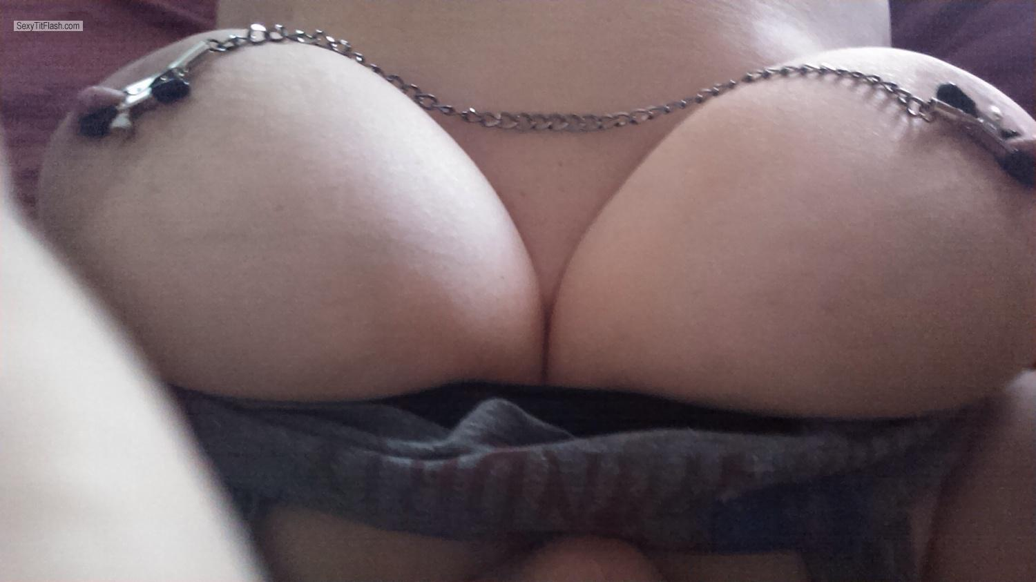 My Very big Tits Selfie by DDwife
