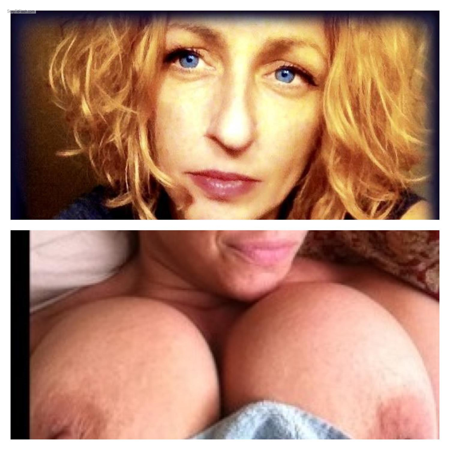 Tit Flash: Very Big Tits By IPhone - Cheryl from United States