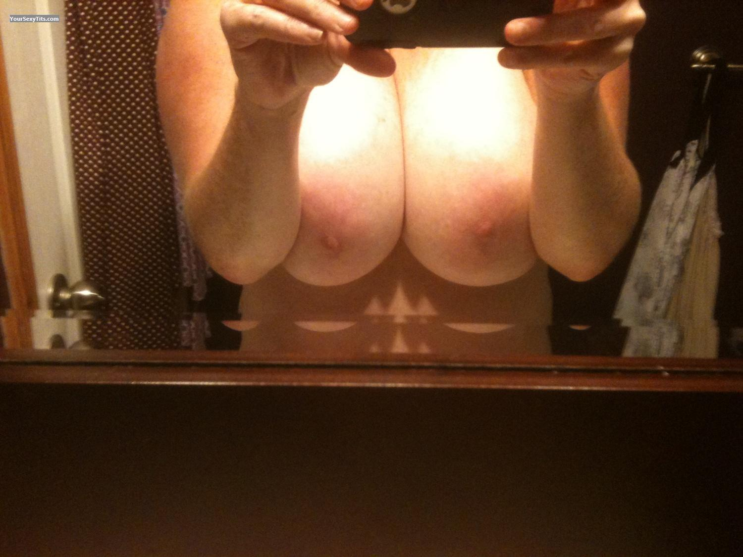 My Very big Tits Selfie by Canada's Finest