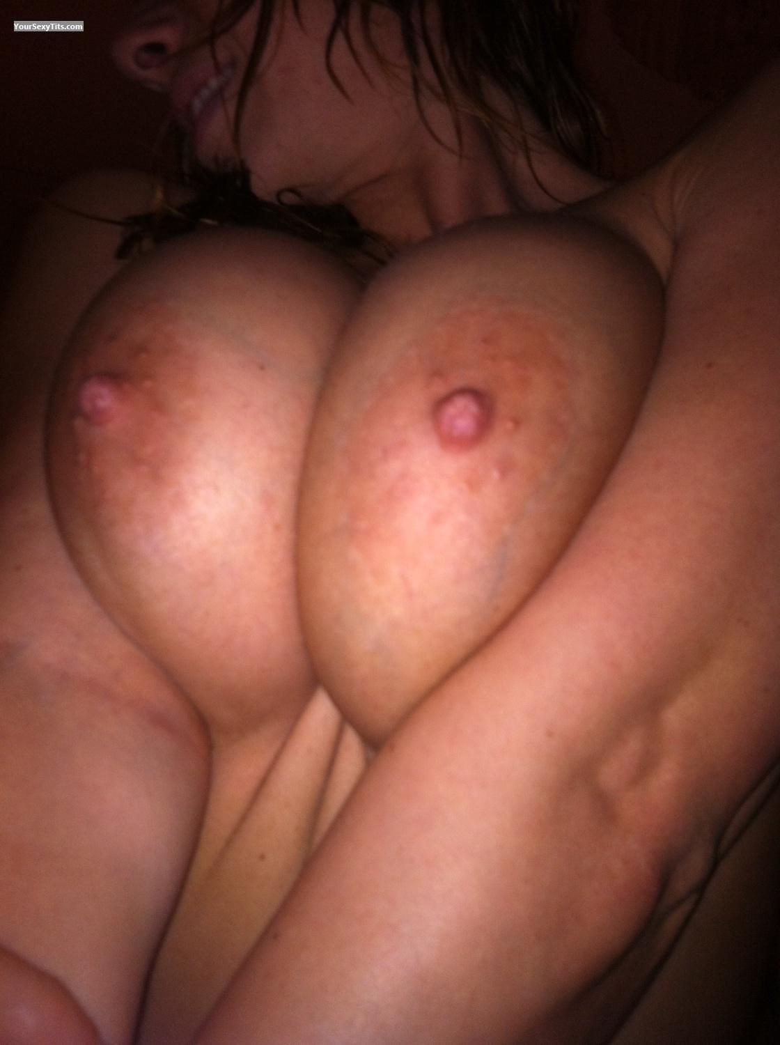 Tit Flash: Very Big Tits By IPhone - Jackie La from United States