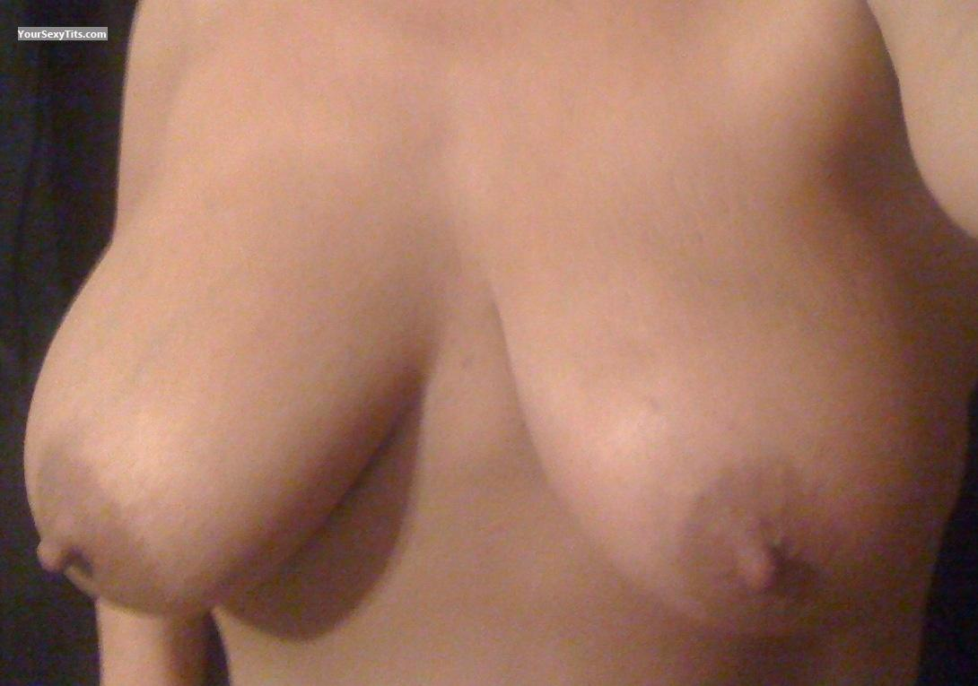 Tit Flash: My Very Big Tits By IPhone (Selfie) - Esperanza from United States