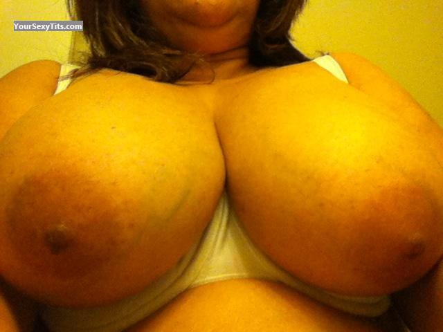 My Very big Tits Selfie by Sexy Latina