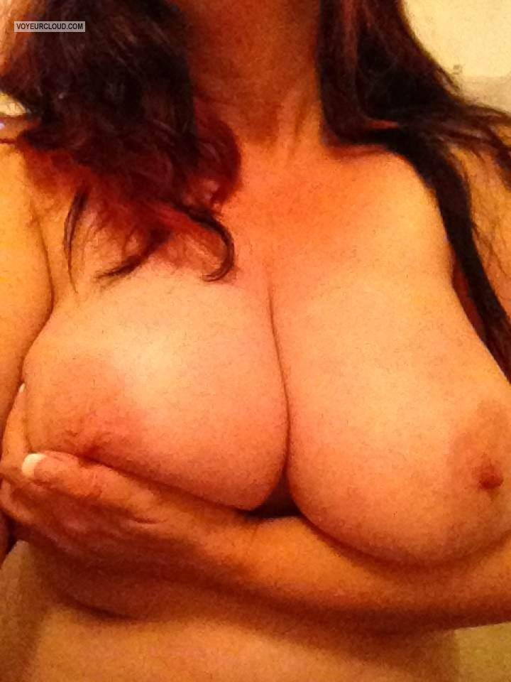 My Very big Tits Selfie by Cougar