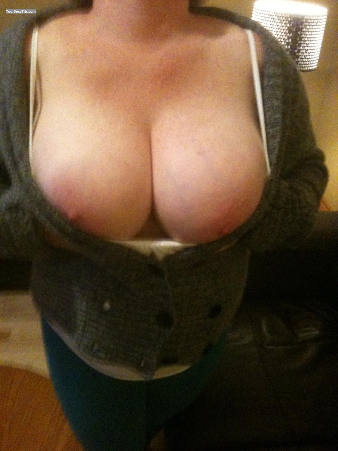 Tit Flash: Very Big Tits By IPhone - Canada's Finest from Canada