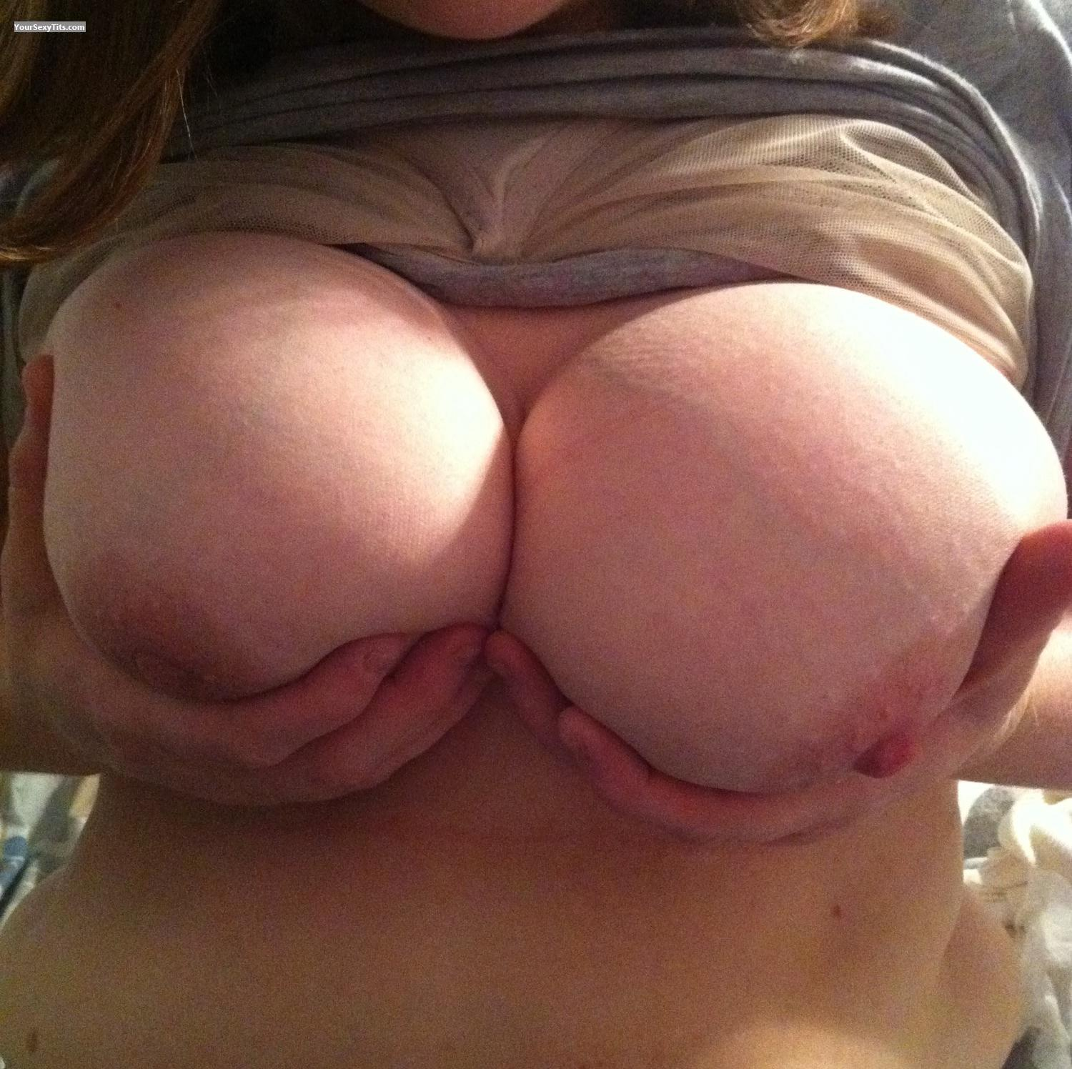 Tit Flash: Very Big Tits By IPhone - Dee Dee from United States