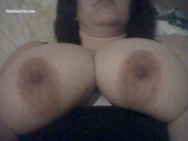 Tit Flash: My Very Big Tits By IPhone (Selfie) - Norks from United Kingdom