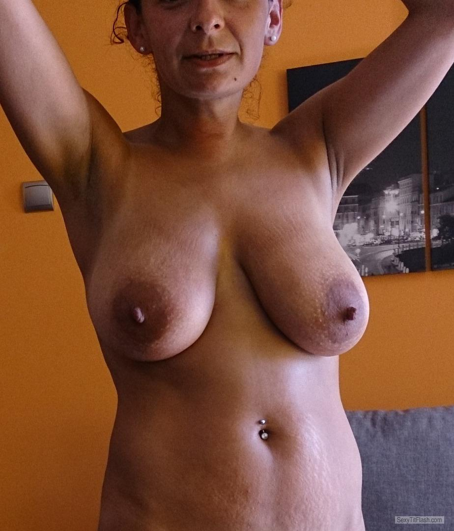 Tit Flash: My Big Tits - Andzia from Poland