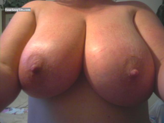 Tit Flash: My Very Big Tits (Selfie) - Pooh from United States