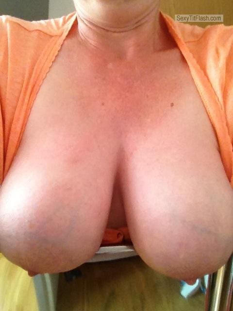 Tit Flash: My Very Big Tits (Selfie) - Sunny from United States