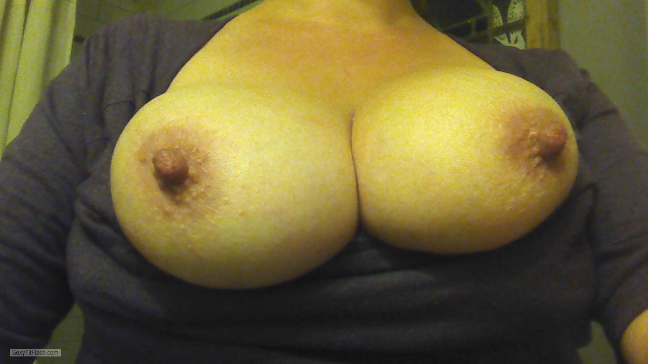 Very big Tits Of My Wife Selfie by Pixieannie