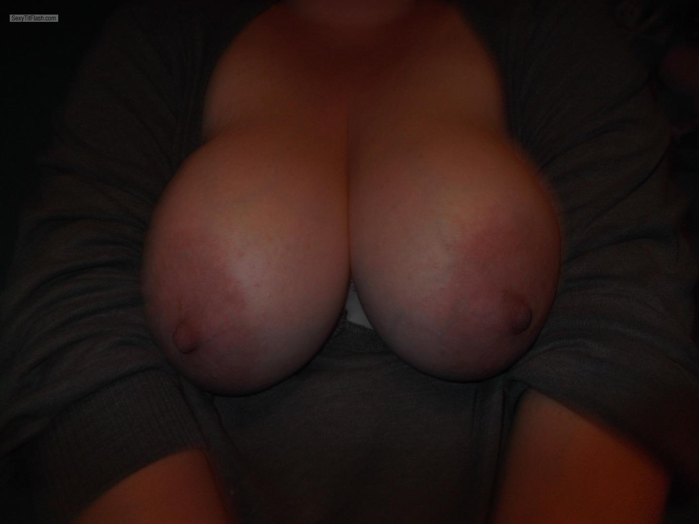 My Very big Tits Topless Lisa F