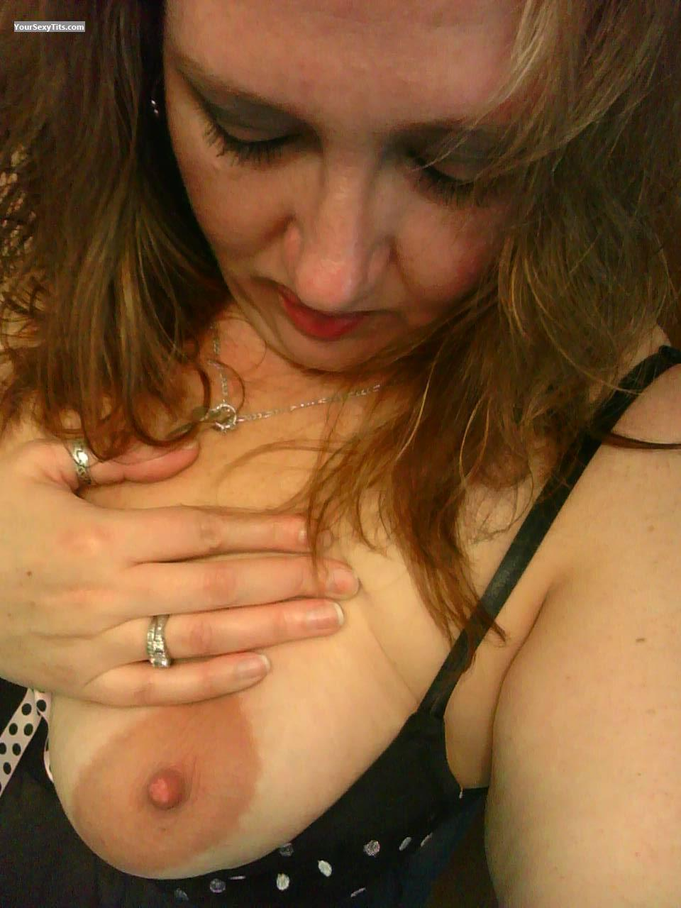 My Very big Tits Topless Selfie by Lady Of The Night