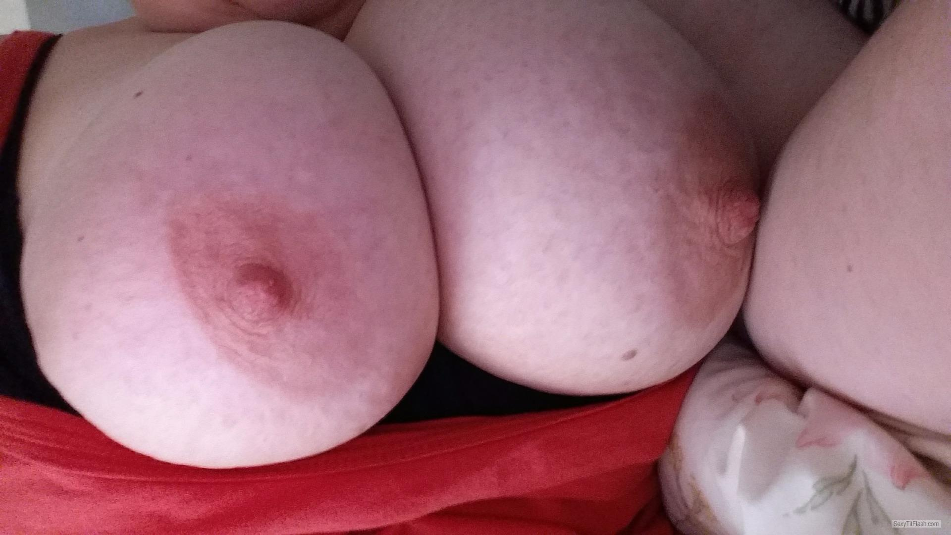 My Very big Tits Selfie by Curvy Cat