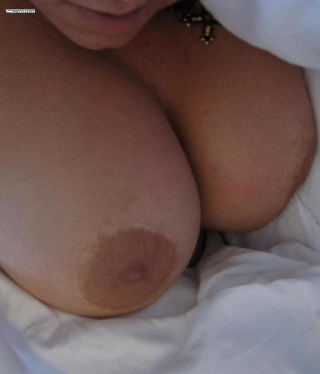 Tit Flash: Very Big Tits - Chesty from Poland