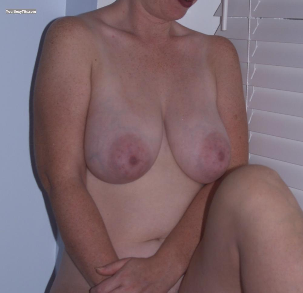 Tit Flash: Very Big Tits - M.C. Hammers from United States