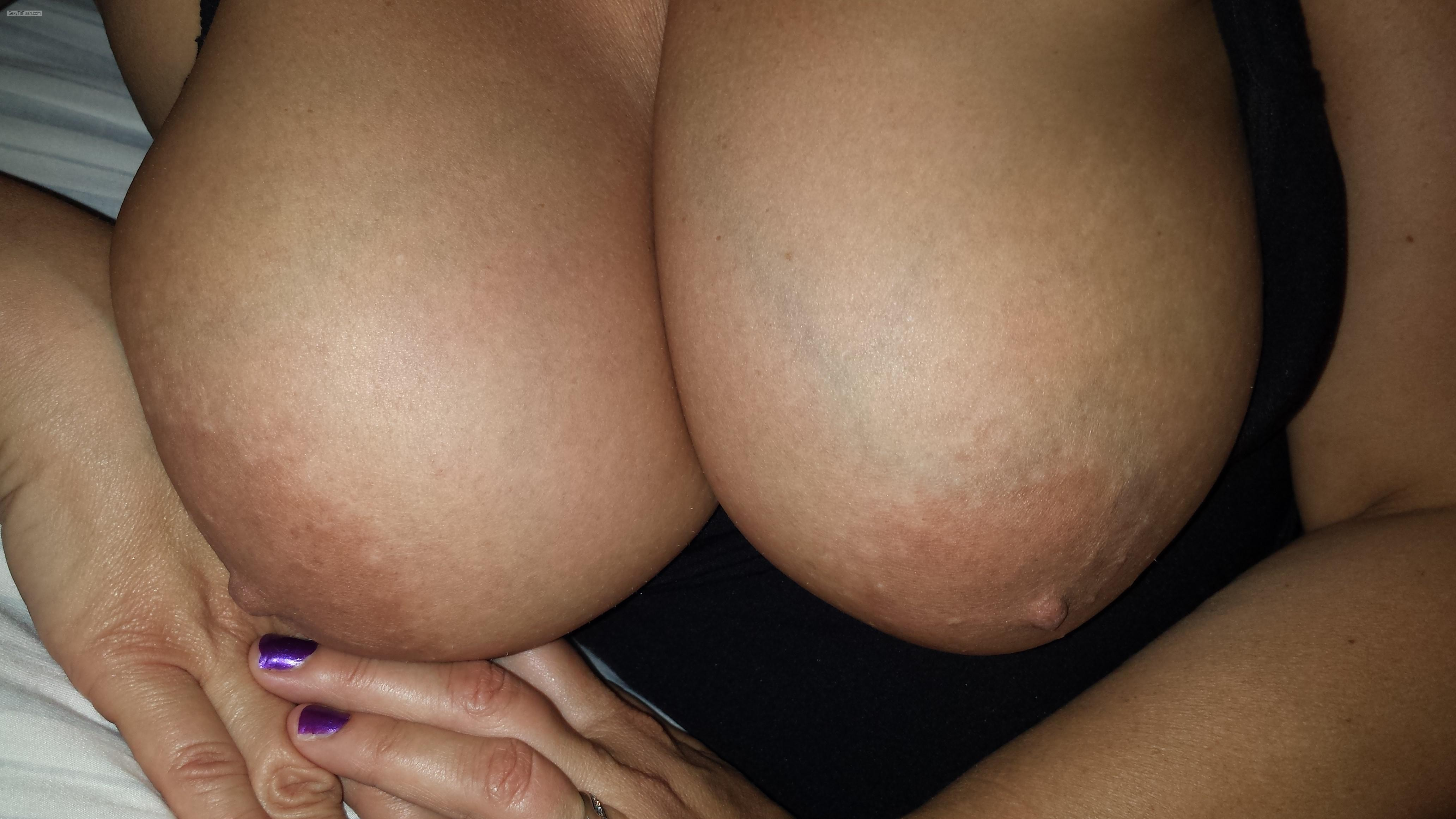 My Very big Tits Topless 38dddyeah