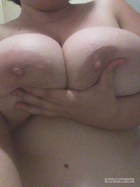 My Very big Tits Topless Selfie by Micky