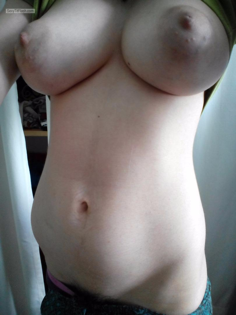 Tit Flash: My Big Tits (Selfie) - Hotsammy from United Kingdom