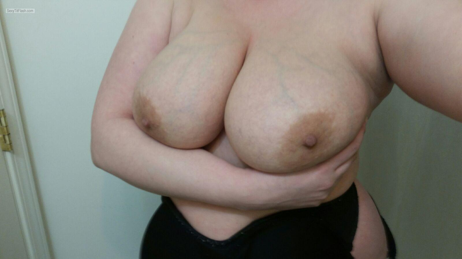 Very big Tits Of A Friend Topless B