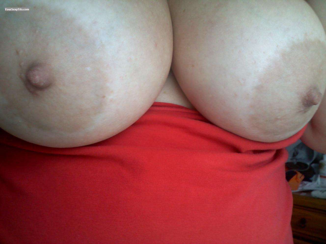 Tit Flash: My Very Big Tits (Selfie) - Al from United States
