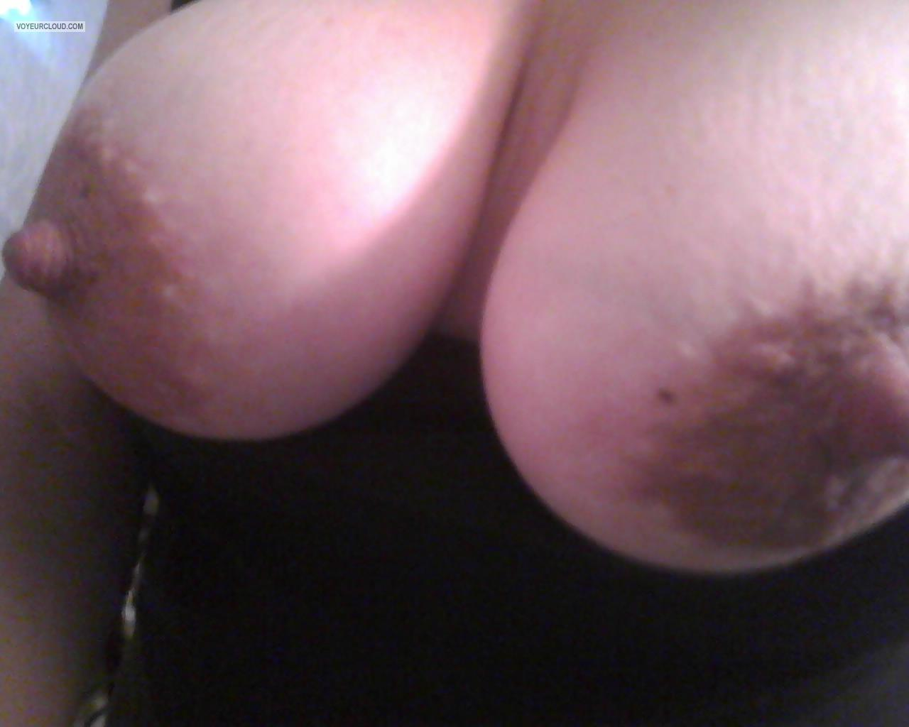 Tit Flash: My Big Tits (Selfie) - Titmom from United States