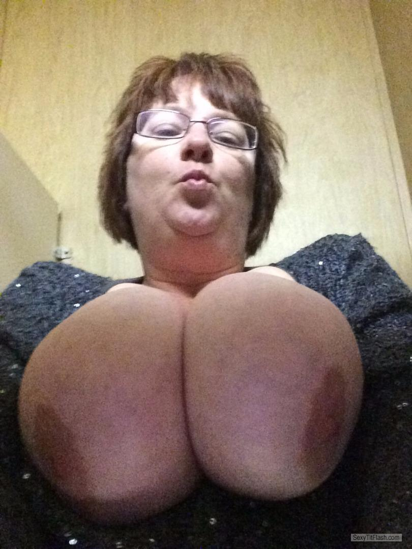 My Very big Tits Topless Selfie by Candy Love