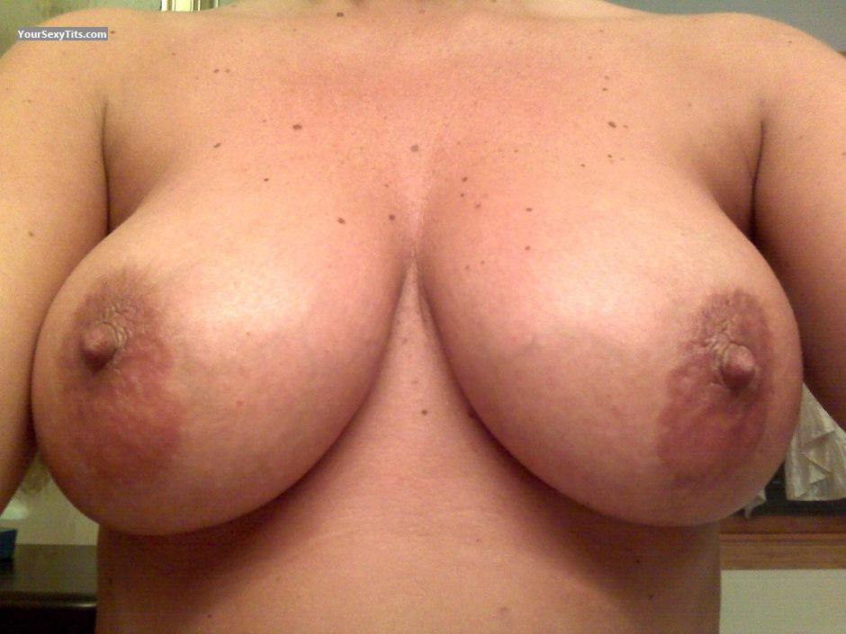 Tit Flash: My Very Big Tits (Selfie) - 40's MILF from United States